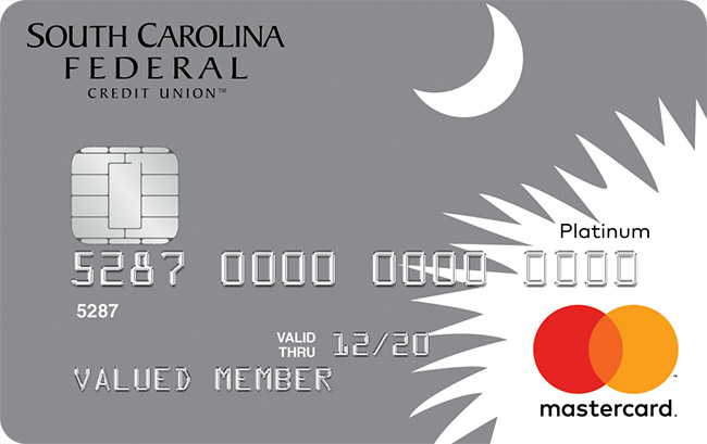 mastercard with silver moon