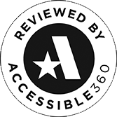 reviewd by accessible 360