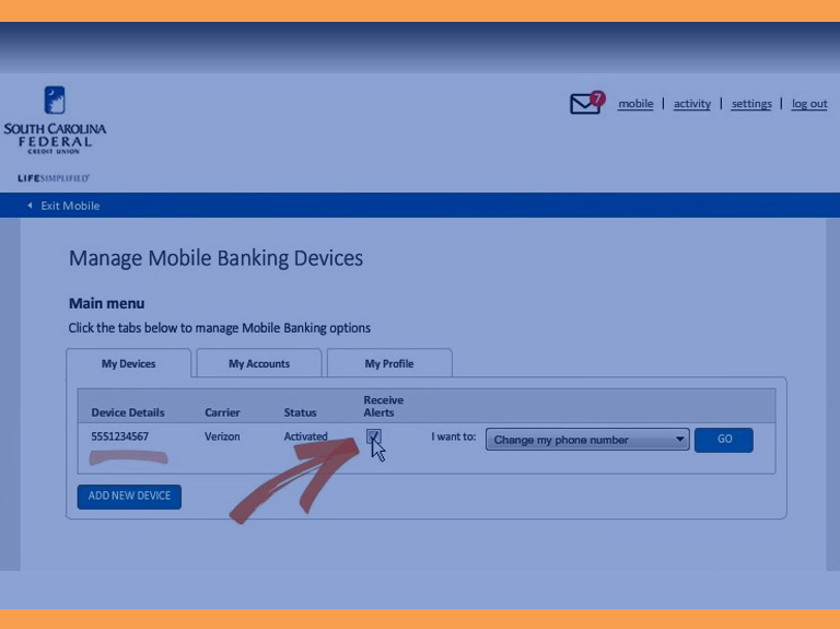 How to manage your mobile devices for online banking video