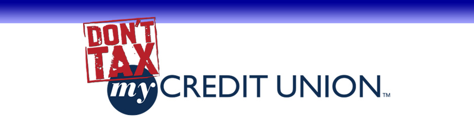 dont tax my credit union header